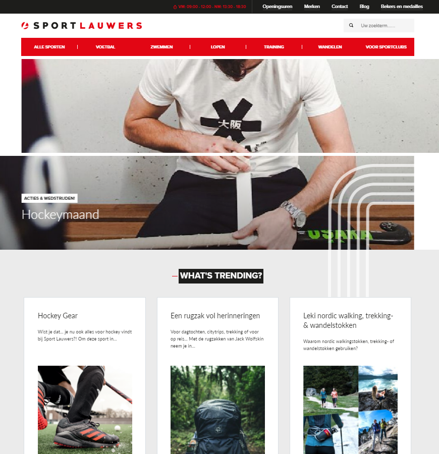 website sport lauwers